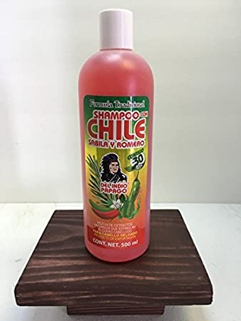 Chile Shampoo by Indio Papago