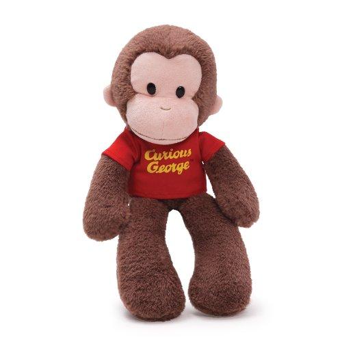 GUND Curious George Take Along Monkey Stuffed Animal Plush, 15