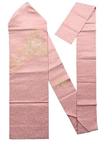 くそー敬なミケランジェロリサイクル 名古屋帯 寿光織 唐花唐草文 正絹