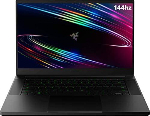 """NEWEST RAZER BLADE 15 BASE 15.6"""" FHD 144HZ GAMING LAPTOP, 10TH GEN INTEL CORE I7-10750H, 32GB RAM, 1TB PCIE SSD, NVIDIA GEFORCE RTX 2060 6GB GDDR6, RGB BACKLIT KEYBOARD, WINDOWS 10"""