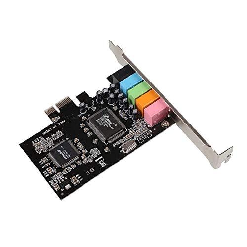 Greatangle Tarjeta de Sonido PCI-E Express de 5.1 Canales ...