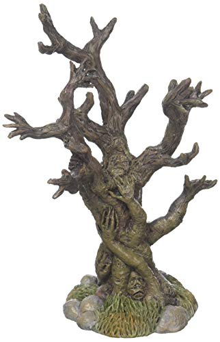 Department 56 Halloween Collections Tree of Terror Figurine Village Accessory, Multicolor]()