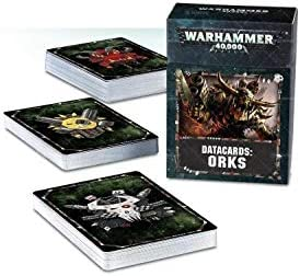 Games Workshop Warhammer 40K: Ork Datacards: Amazon com