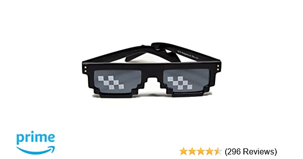 02839d3fdb Amazon.com  Deal With It Glasses - Thug Life Sunglasses by Swagasaurus Rex   Toys   Games