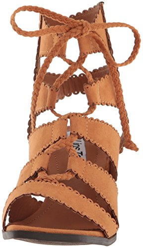 Lips 2 Women Sandal Dress Domino Tan Too R1Brnq1