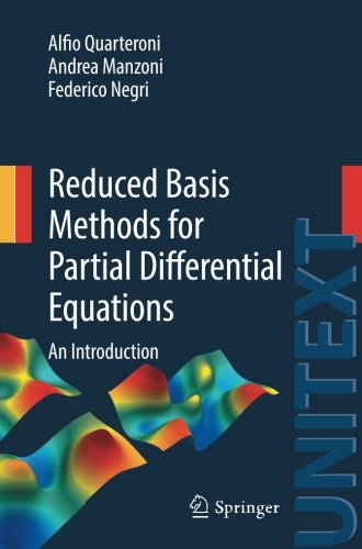 Reduced Basis Methods for Partial Differential Equations 2016