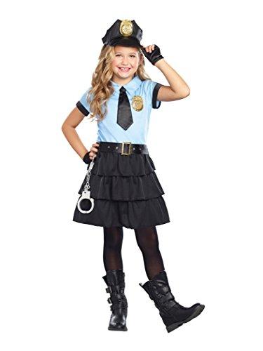 SugarSugar Cuff 'Em Cop Costume, One Color,