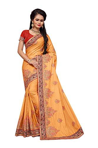 Chiaro Color Sari Ethnic Indiani Indian 13 Colore Rajasthan Tradizionali For Women Da Facioun Facioun Del Sari Da Arancio Etnico Light Donne Traditional Rajasthani Sarees Orange Per Le 13 Sari q7np8