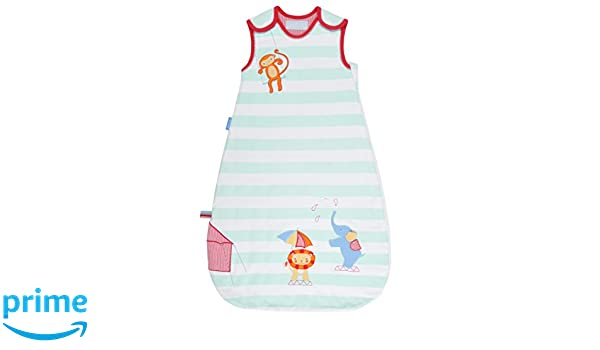 Vital Innovations grobag, saco de dormir infantil Sleepy Circus, 1.0tog multicolor Talla:0-6 meses: Amazon.es: Bebé
