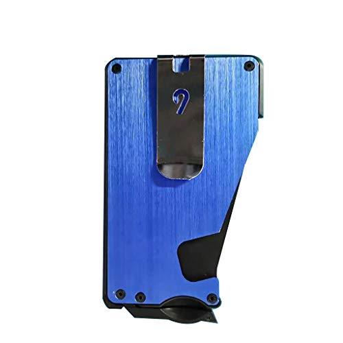 - Dergo ☀2019 Card Storage bagNew The Quick Access Slim Wallet,Slim Credit Card Holder Mens Wallets (B)