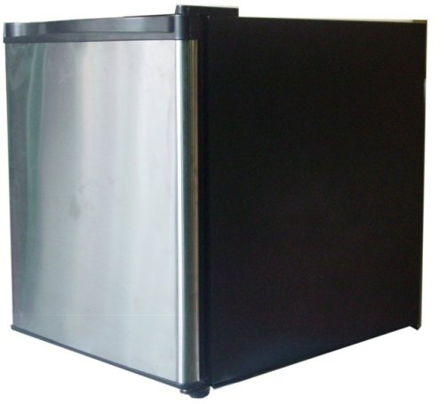 1.6-Cu-Ft Stainless Steel Door Refrigerator