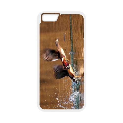 """SYYCH Phone case Of Love Birds -Mandarin Duck Cover Case For iPhone 6 (4.7"""")"""