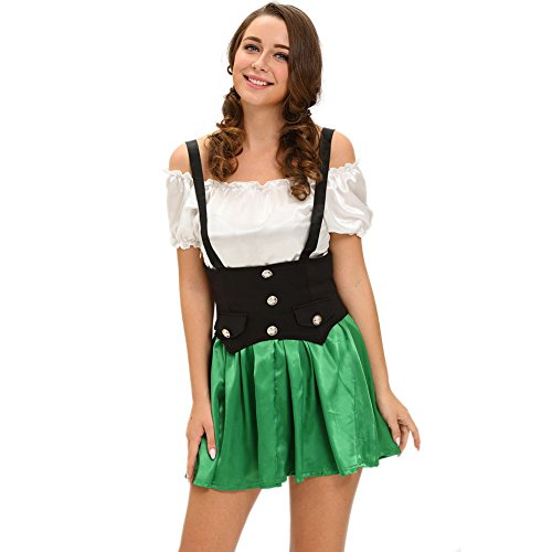BYY Shamrock Sweetie 2pcs Beer Girl (Australian Lifeguard Costume)