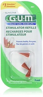 GUM Stimulator Refills, Pack of 3