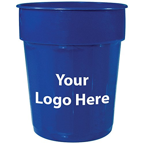 16 Oz. Fluted Stadium Cup - 250 Quantity - $0.65 - Promotional Product/Bulk with Your Logo/Customized