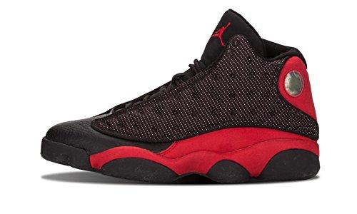 スリップシューズ暴露する申込みナイキ(NIKE) AIR Jordan 13 Retro 2013 メンズ 414571-010 Bred Basketball スニーカー [並行輸入品]