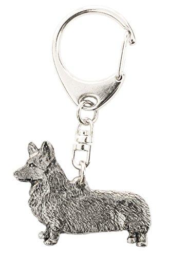 Pembroke Welsh Corgi Made in U.K Artistic Style Dog Key Ring -