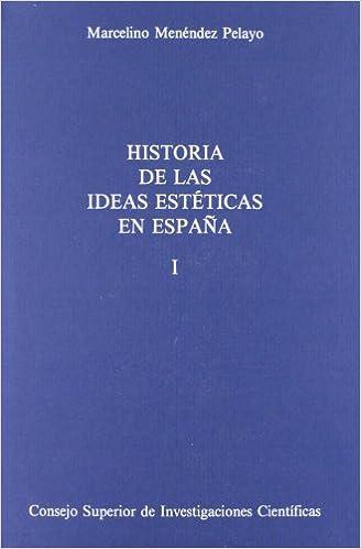 HA.IDEAS ESTETICAS 2V: Amazon.es: Menendez Pelayo, Marcelino: Libros