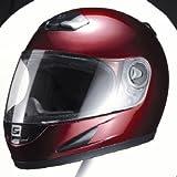 マルシン(MARUSHIN) バイクヘルメット フルフェイス M930 ワインレッド フリーサイズ(57~60CM)