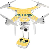 Skin For DJI Phantom 3 Professional – Dogs Over Humans | MightySkins Protective, Durable, and Unique Vinyl Decal wrap cover | Easy To Apply, Remove, and Change Styles | Made in the USA