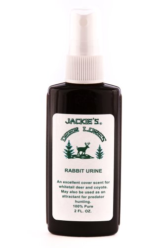 Jackies Deer Lures Rabbit Cover Scent (Deer Cover Scents)