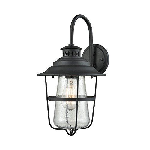 Elk Lighting 45120/1 Wall-sconces, One Size, Black ()