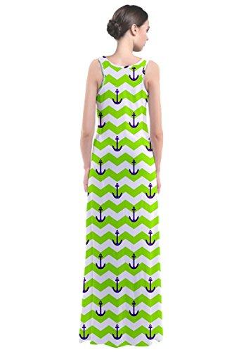 CowCow - Vestido - para mujer verde neón