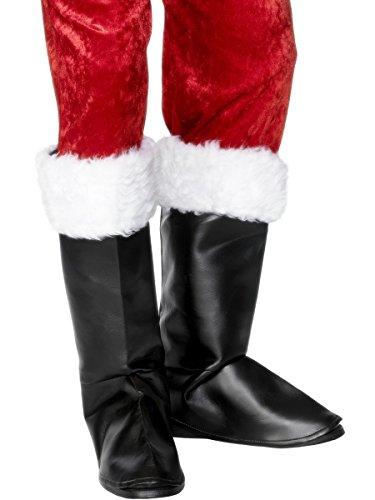 Santa Boot Covers Costume Accessory