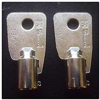 2 Keys Coin Operated Replacement for Washing Machine AP2402824 647110 M404608 54612 LP16037
