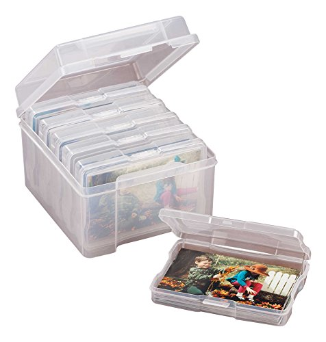 Plastic Photo Storage Set of 7
