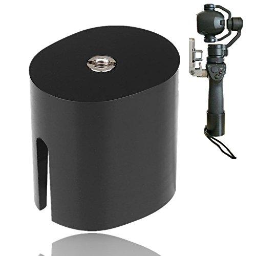 Yosoo Gimbal Tripod Base, Universal Handheld Camera Adapter Base with 1/4inch Mounting Screw for DJI OSMO All Series