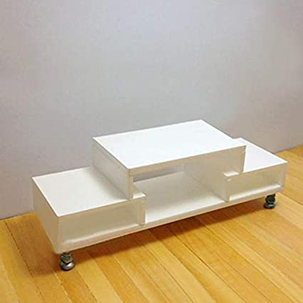 Retro Wooden End Coffee Table Doll House Room Miniature Furniture White//Brown ❤