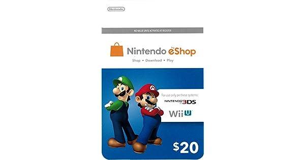 Amazon.com: Tarjeta de regalo de Nintendo eShop: Tarjetas de ...