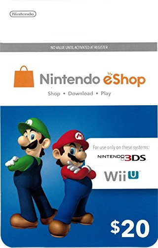 Reviews/Comments Nintendo eShop $20