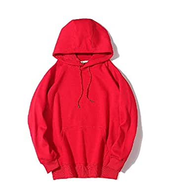 Mogogo Men's Fleece Relaxed-Fit Hooded with Pockets Hooded Sweatshirt AS1 S