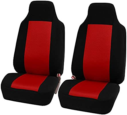FORD FOCUS HATCBACK 11-ON FABRIC SEAT COVERS BLUE PIPING 1+1