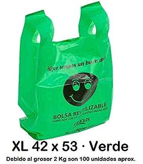 Bolsas de plástico resistentes de estilo chaleco de color ...