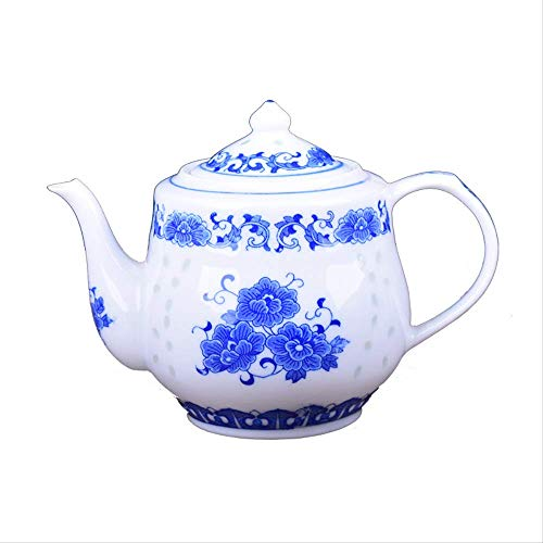 Acoome 650ml Qinghua Porcelain Pot Glaze Chinese Traditional Teapot