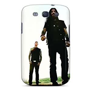 Protector Hard Phone Cover For Samsung Galaxy S3 With Custom Attractive Machine Head Band Pictures LauraAdamicska