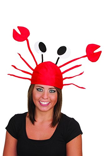[J18810 Crab Cap] (Lobster Claw Costume Accessory)