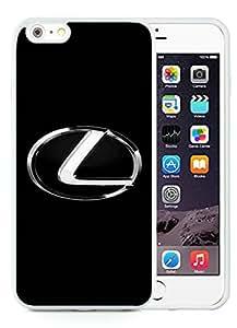Unique and Grace Case Lexus logo 3 iPhone 6 Plus 5.5 Inch TPU Case in White hjbrhga1544