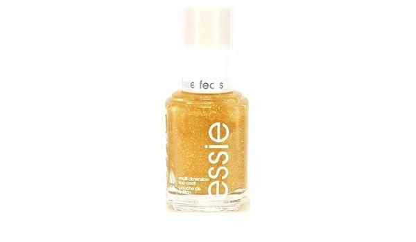 3 Pack) ESSIE Multi Dimension Top Coat - as gold as it gets: Amazon.es: Belleza