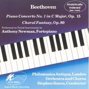 Beethoven: Piano Concerto No. 1 in C Major / Choral Fantasy [Analytically Indexed]
