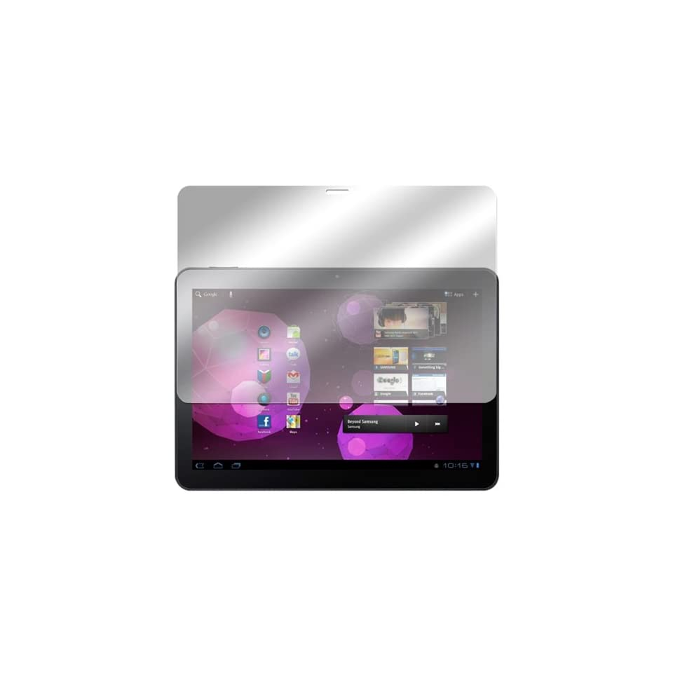 GreatShield Ultra Anti Glare (Matte) Clear Screen Protector Film for Samsung Galaxy Tab 10.1 P7510 / Verizon Samsung SCH I905 LTE Version Touchscreen Tablet (3 Pack)