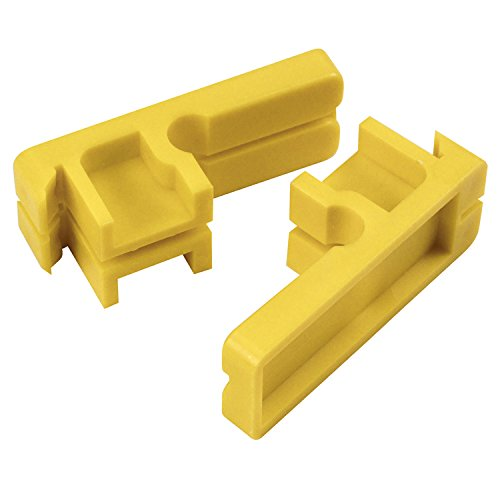 Kraft Tool BL348 Tenite Plastic Line Blocks-Bagged Pair