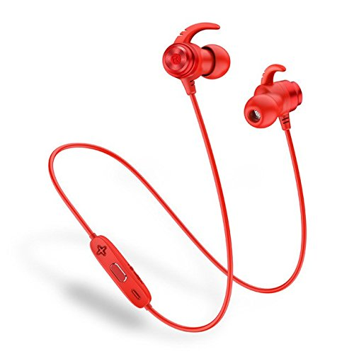 Sound Intone IPX7 Waterproof Wireless Earphones Dual Battery Bluetooth Headphones Magnetic Sport Earphone With Mic for Xiaomi,2 pack