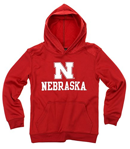 - Outerstuff NCAA Big Boys Youth Performance Hoodie (8-18), Nebraska Cornhuskers