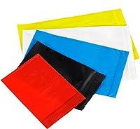 "Bauxko 12"" x 15"" Reclosable Poly Bags, Black, 25-Pack (xPB3670BK-25)"