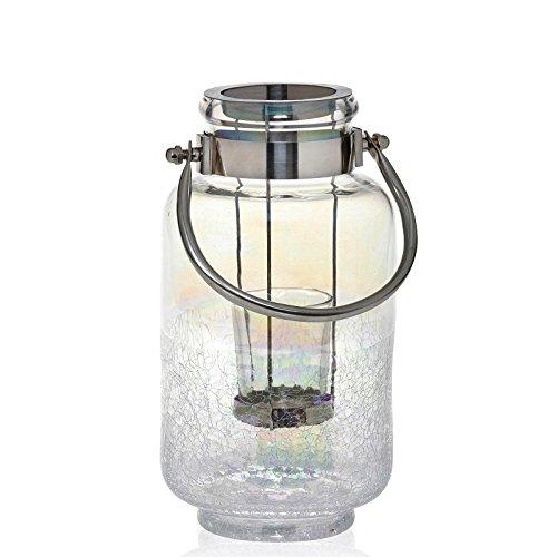 YANKEE CANDLE Pearlescent Crackle Votive Lanterna Holder 1579395