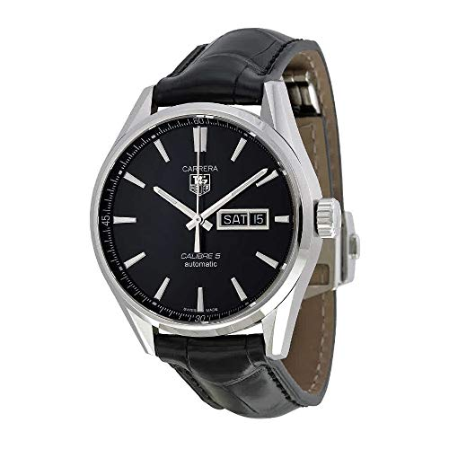 (TAG Heuer Men's WAR201A.FC6266 Analog Display Automatic Self Wind Black Watch)